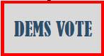 Dems Vote logo